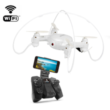 FY603 Mini Drone with Camera Wifi FPV Quadcopter 2 4G 6Axis RTF Helicopter Drone with GYRO