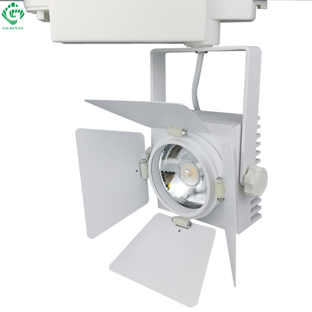 Track Lighting Rail Lamp Art Deco 25W Vintage Shoe Clothing Track Light LED Rail Lighting Systems Spot Light
