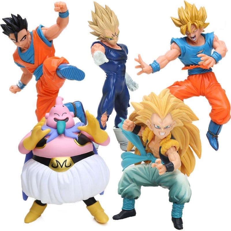 box dxf dragon ball kai fighting combination son gohan son goku