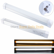 PVC T5 neon LED fluorescent Tube Light Lampada 300mm 600mm Integrated 0.3m 6W 0.6m 10W LED Light Lamp AC110V 220V 240V White