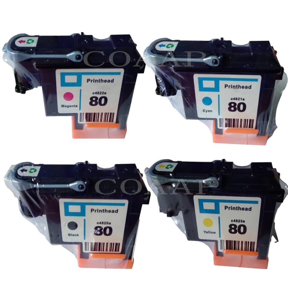 1 Set C4820A C4821A C4822A C4823A Compatible printhead cartridge for HP Designjet 1000 1050 1050c 1055