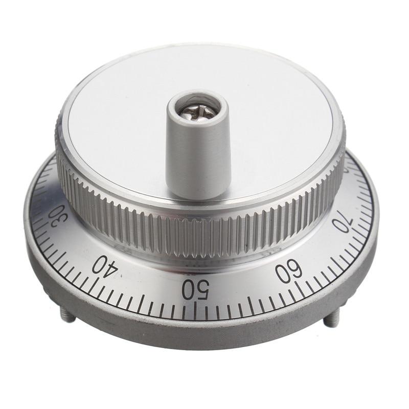 CNC Pulser Handwheel Handle Kit 5V Manual Pulse Generator CNC Machine 60mm Rotary Encoder Electronic Handwheel  цены