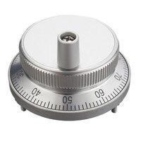 CNC Pulser Handwheel Handle Kit 5V Manual Pulse Generator CNC Machine 60mm Rotary Encoder Electronic Handwheel