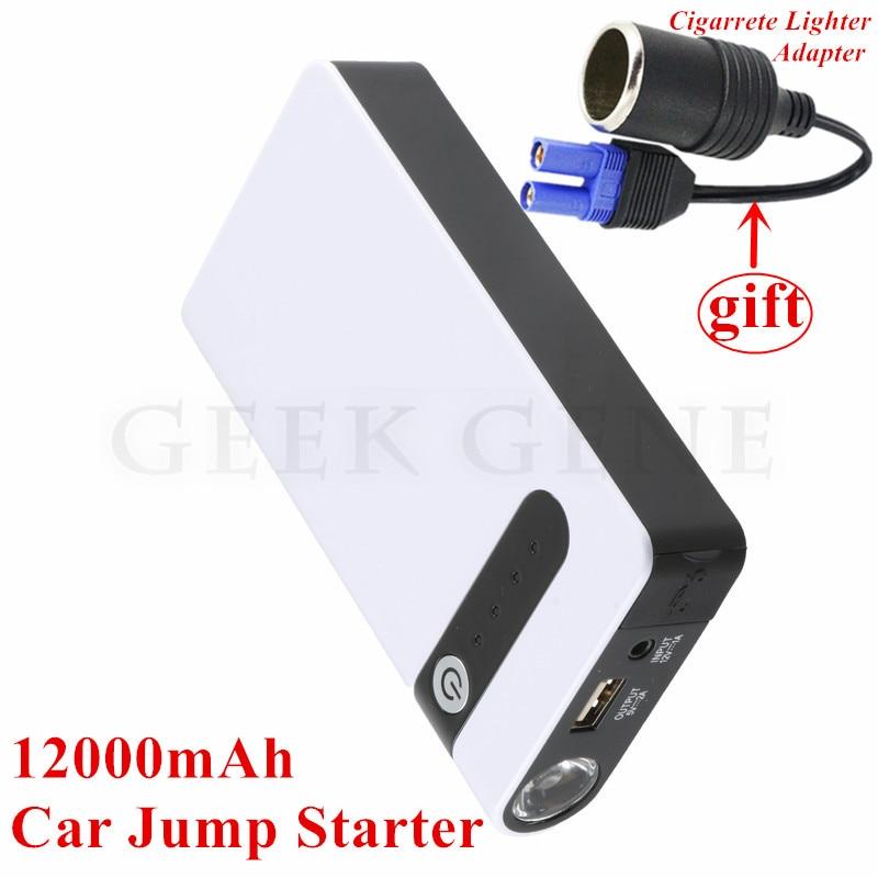 Car Jump <font><b>Starter</b></font> Emergency Lighter Power Bank 12V Car Charger For Car Battery Booster Buster Starting Device For Diesel Petrol