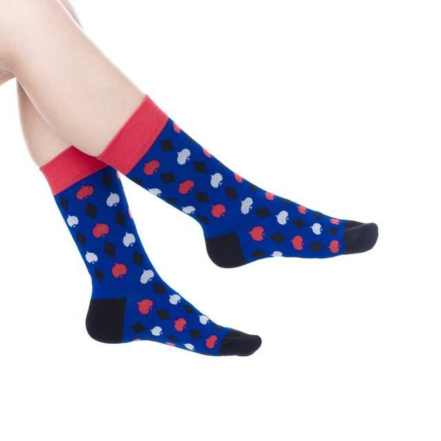 Placeholder Foot 23 27cm Crew Socks Love Heart Penguin Panda Animal British England Antlers Staghorn Cross