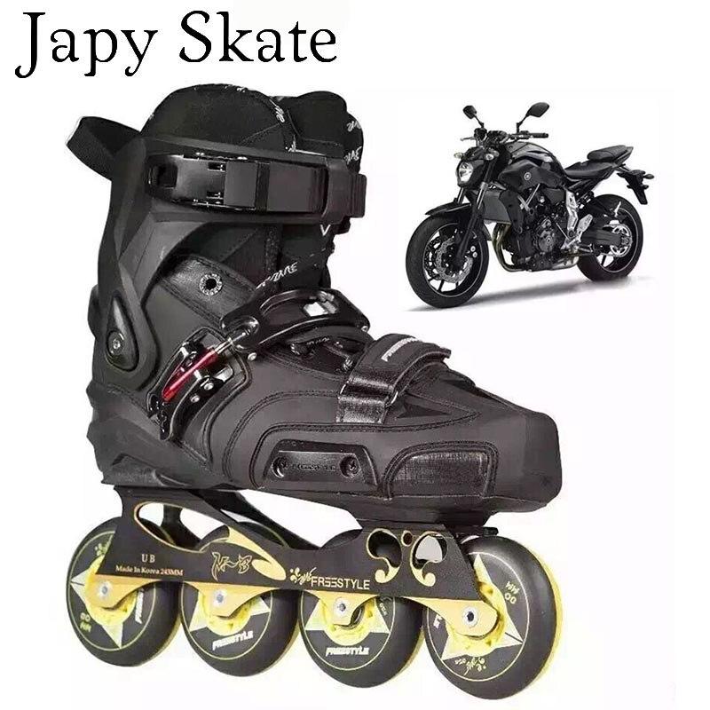 Prix pour Jus japy Skate Originales Freestyle TT Professionnel Slalom Patins À Roues Alignées Rouleau Adulte De Patinage Patin Livraison De Patinage Patines Adulto