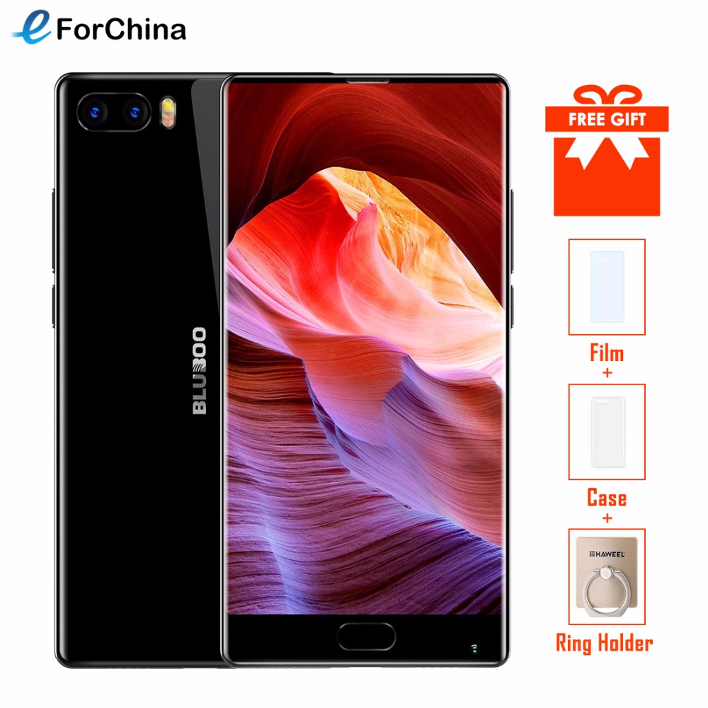Original Bluboo S1 Lünette-weniger Smartphone 5,5 ''FHD Helio P25 Octa Core 4 gb RAM 64 gb ROM android 7.0 Dual Hinten Kamera 3500 mah
