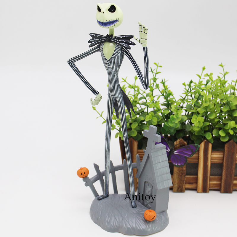 The Nightmare Before Christmas Figure Jack Skellington Action Figure JACK AND CHAIR Toy Gift 30cm