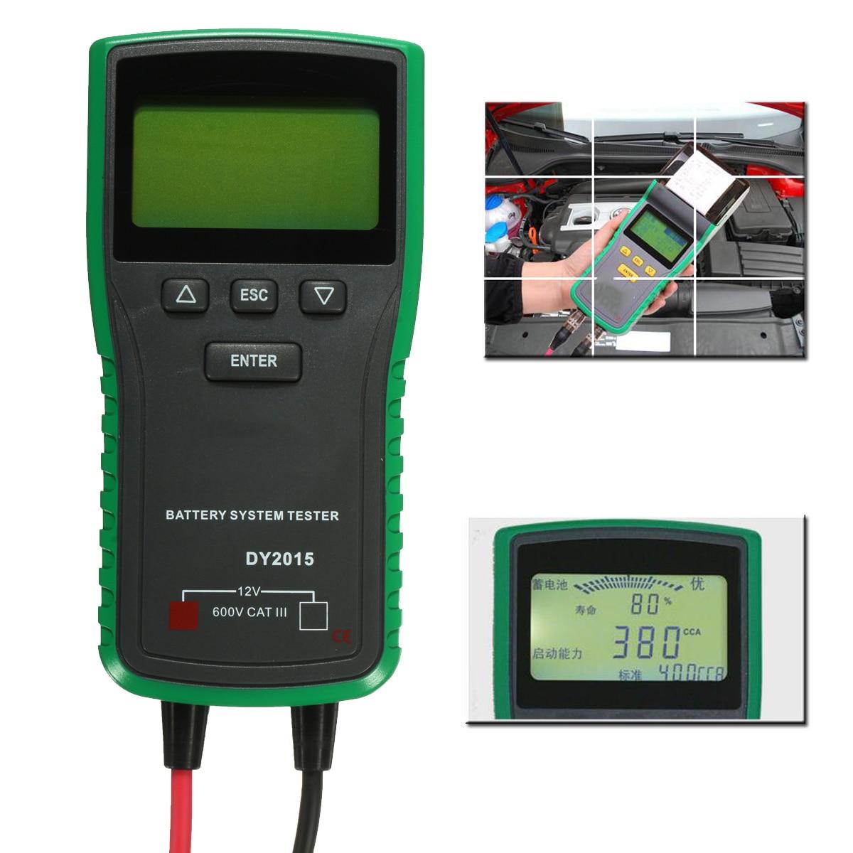 ABS 12 v דיגיטלי רכב רכב סוללה עומס בודק מנתח CCA עמיד באיכות סוללה בודקי טווח 1001700