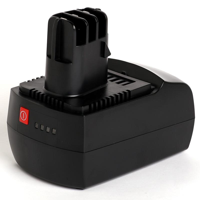 For Metabo Met 14.4V 4000mAh power tool battery Li-ion 6.25482,BSZ 14.4 Impuls Li,BSZ14.4 14 4v 3000mah power tool battery li ion for metabo 6 25482 bsz 14 4 impuls li bsz14 4