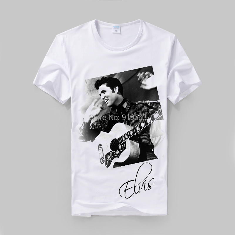 Elvis presley love me tender black and white picture for Vintage t shirt printing