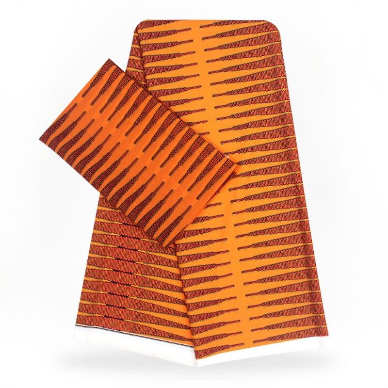 YBG! haute qualité africain cire impression tissu marque Stretch Satin soie tissu tissu soie offre spéciale en gros 4 + 2 yards/lot! L62206