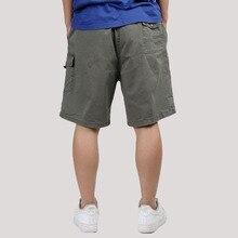New Fashion Mens Cargo Shorts Causal Fashion Beach Shorts Men's Clothing Loose Multi Pockets Work Shorts for Men Plus Size 6XL zipper fly multi pockets cargo shorts