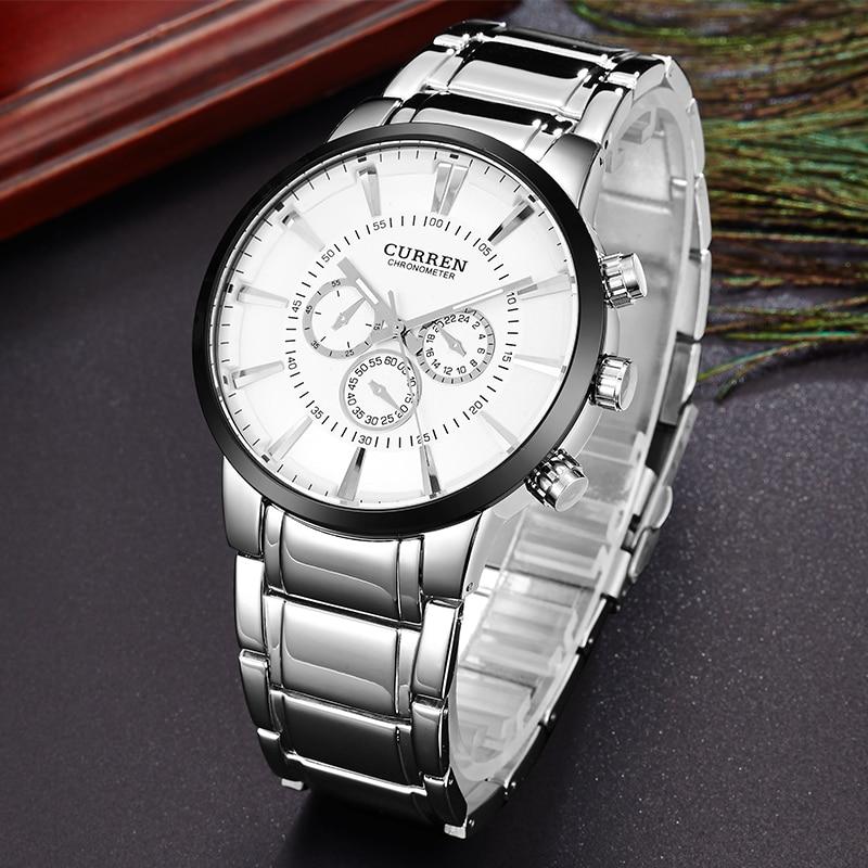 Curren relogios masculinos Сәнді Brand Watch Ерлерге - Ерлердің сағаттары - фото 3