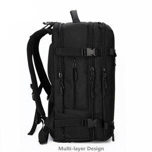 Image 2 - OZUKO sac à dos hommes voyage pack étanche sac ordinateur portable mâle école bagages USB grande capacité multifonctionnel femmes antivol