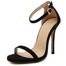 Women Sandals High Heels Gladiator Summer Ladies Shoes Party Wedding Shoes Ankle Strap Open Toe Sexy Stiletto Women Sandals aneikeh high heels sandals women summer shoes elastic band open toe gladiator wedding party dress shoes woman sandals apricot