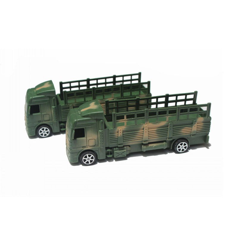 Military Transporter Tractor Car WW II Scooter Military Vehicle Model Sand Table Scene Plastic Parts Accessories Toys 1 pcs