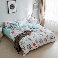 Baby bedding 4 sets of bed kits Including Bed sack Quilt cover and Pillows
