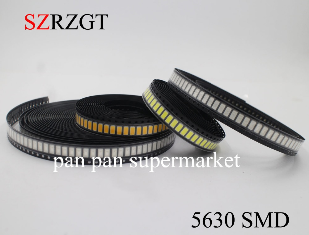 5value 50pcs SMD LED 0805 Superbright LEDs Assorment Kit