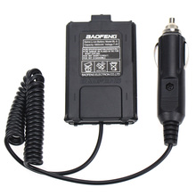 Baofeng UV-5R Walkie Talkie Battery Eliminator 12V Car Charger Adapter for UV5A Two Way Radio
