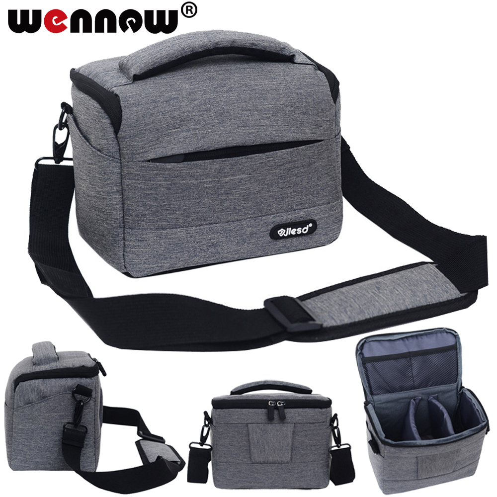 Shockproof DSLR Camera Bag Case For <font><b>Canon</b></font> EOS 100D 1300D 1200D 1100D 760D 750D 700D 600D 650D 550D <font><b>60D</b></font> 77D 5D Shoulder Bag <font><b>Cover</b></font> image