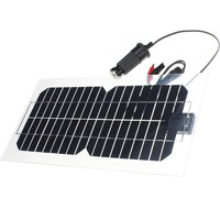 Hot Sale 5 5W 18V Semi Flexible Transparent Monocrystalline Silicon Solar Panel Solar Cell Sun Engergy