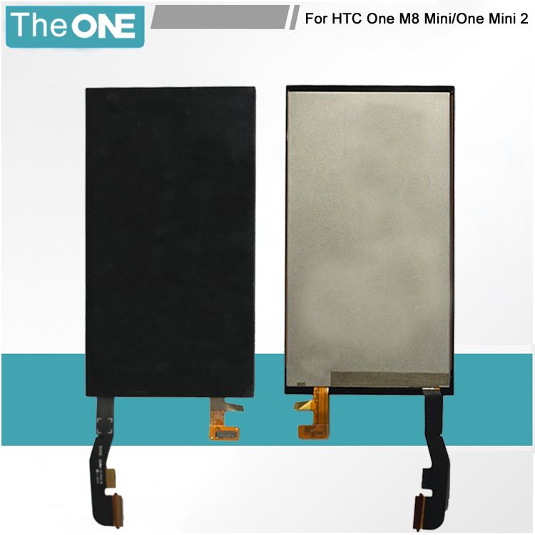 1PC/Lot LCD Display + Touch Screen Digitizer Completed Assembly For HTC One Mini 2 M8 Mini Free Shipping for htc one mini lcd 601e m4 lcd display with touch screen digitizer assembly free shipping 100