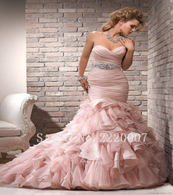 Vestido de boda atractivo Del Amor Temerario de Tren vestido de ...