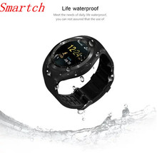 Smartch Sport Bluetooth Smart Watch Android With Shake Hand Wake Up Screen Support Facebook Whatsapp TF SIM Smartwatch GV18 W8 Q
