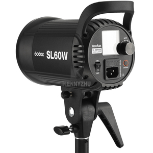 Image 3 - Godox SL60W SL100W SL150W SL200W LED Video Continuous Light +Barn Door Grid Filter 5600K SL 60W SL 100W SL 150W SL 200W Lighting
