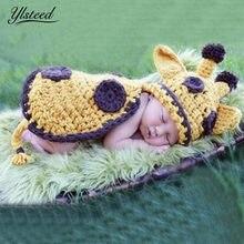 Del ganchillo del knit Beanie sombreros casquillo animal del Bebé Ropa para  fotos recién nacido traje conjunto bebé fotografía A.. f5801bdaf14f