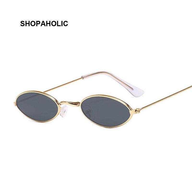 Retro Small Round Sunglasses Women Brand Designer Black Sun Glasses For Ladies Alloy Quality Sunglasses Female Oculus De Sol