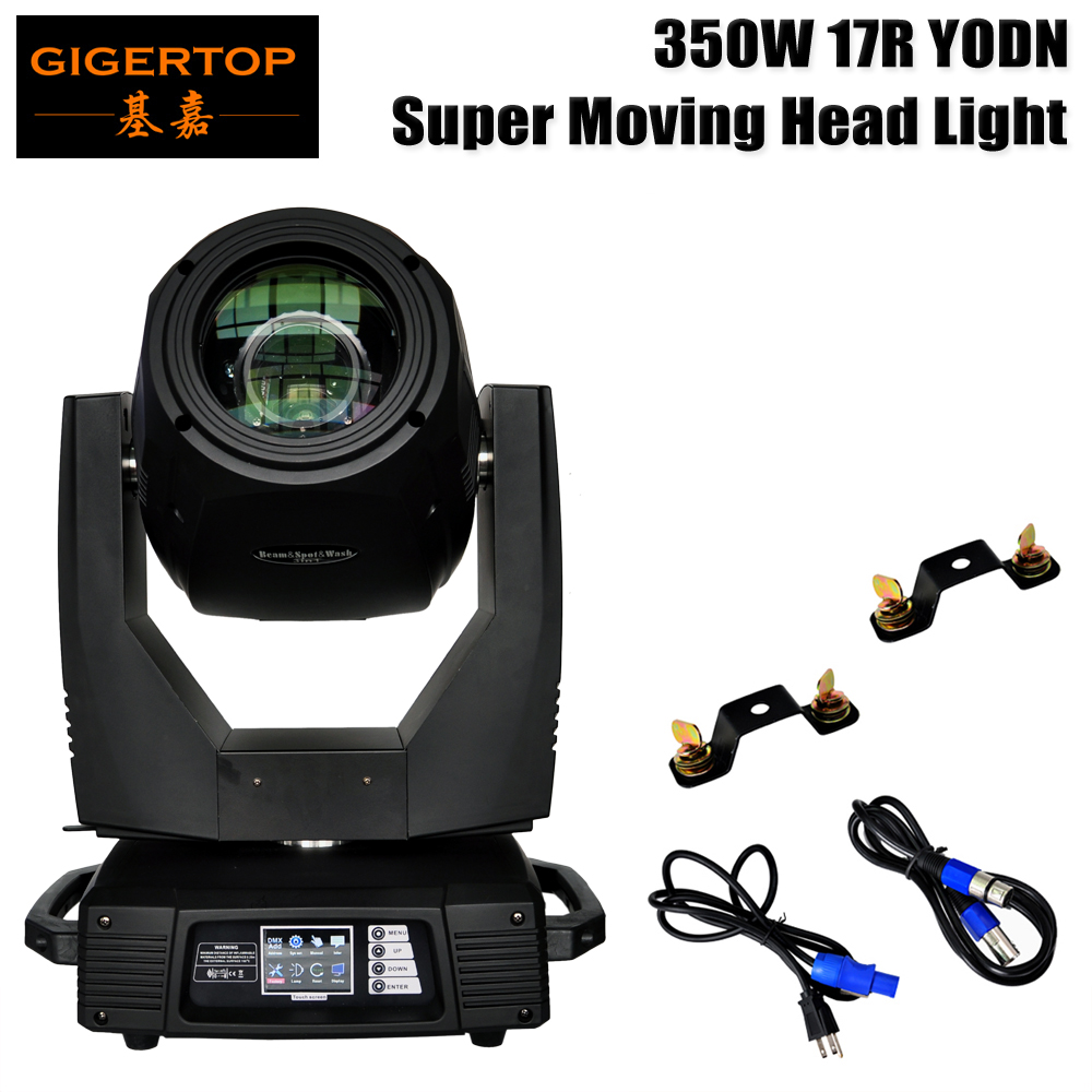 TP 17R 17R Beam Spot Wash 3 in 1 350W Moving Head Light Full Color Led Display Wall Washer Lens Optical System Focus 110V 220V