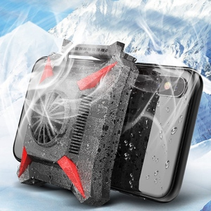 Image 3 - Cooler Phone Usb Cooling Fan Gaming Phone Radiator Portable Drop Temperature with Usb Cable