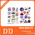 13 Designs travel PVC Waterproof sticker bomb Luggage Suitcases Guitar Skateboard laptop stickers Car Styling