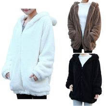 Winter Women Hoodie Coat