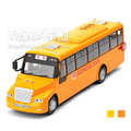 1:32 Alloy Bus Model Excellent Gifts High Simulation Exquisite Model Toys Big Nose Chinese or American School Bus Model