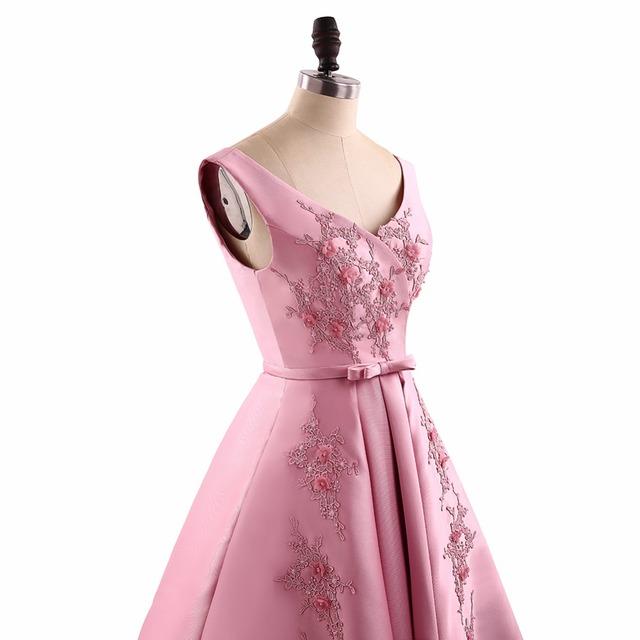 A Line V Neck Appliques Short Homecoming Dresses Mini Backless Sleeveless Homecoming Dress HFY62906