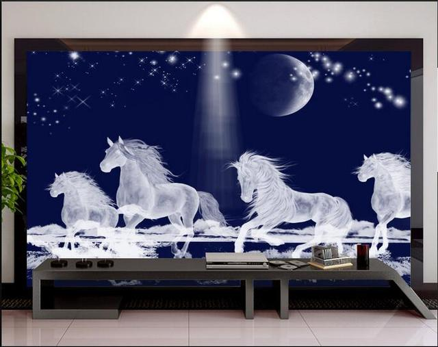 3d room wallpaper custom mural non woven wall sticker hd 3 d tv