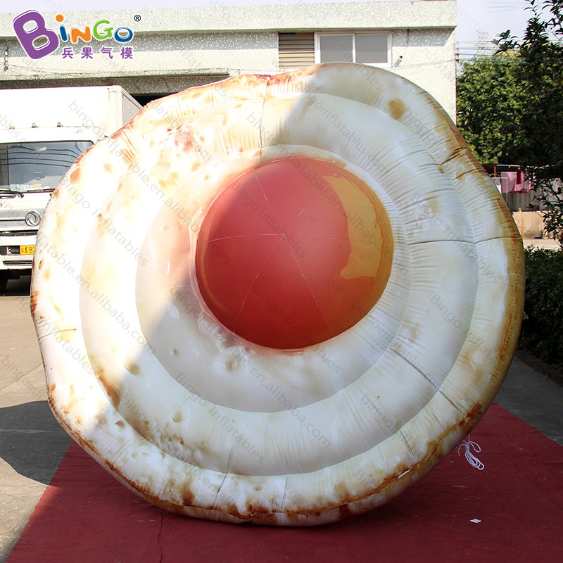 DIA 2.5m Giant Inflatable Fried egg Shape Balloon Omelette Replica Model Promotion Event Display Inflatables Poached eggsDIA 2.5m Giant Inflatable Fried egg Shape Balloon Omelette Replica Model Promotion Event Display Inflatables Poached eggs