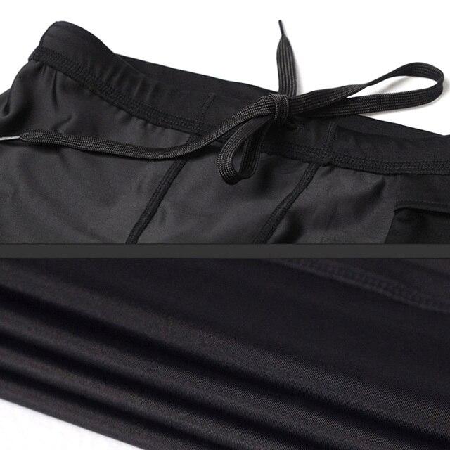 big sale 16f9b 0b7c7 Männer Frauen Sport Leggings Quick Dry Slim Fit Hohe Elastische Hosen für  Yoga Basketball MC889