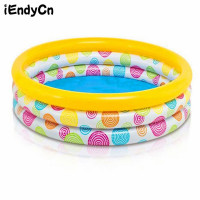 iEndyCn Circular Inflatable Pool Family Pool Children Aid Float Kids Mini playground Swimming Pool LMY919YD