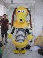 Eksport wysokiej jakości Osobowości brązowego uszata psa maskotki kostium/dorosłych rozmiar typu silver wiosna brzuch psa maskotka kostium