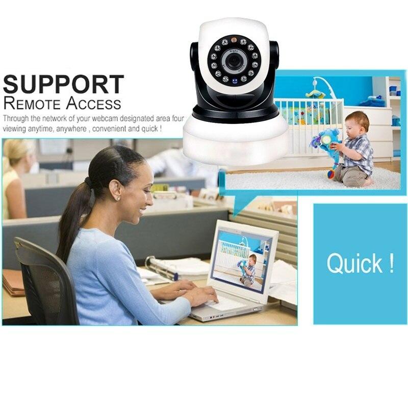 Caméra sans fil Ip wifi P2P caméra de sécurité à domicile téléphone intérieur HD vue en temps réel 720 P moniteur bébé/animal de compagnie - 3