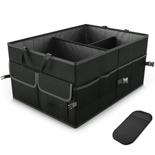 Автомобильный контейнер для хранения, сумка для багажника, органайзер для автомобиля Ford hyundai, аксессуары для салона автомобиля, коробка для багажника