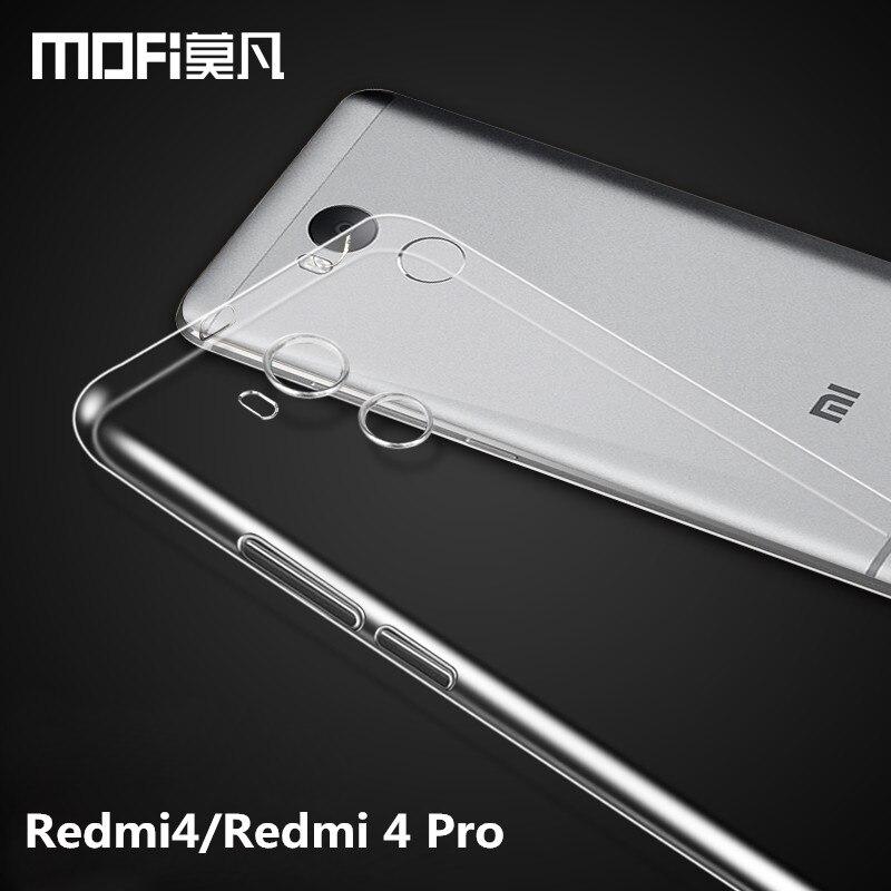 Redmi 4 Pro case Xiaomi Redmi 4 Pro Prime case silicon MOFi Redmi4 case TPU soft