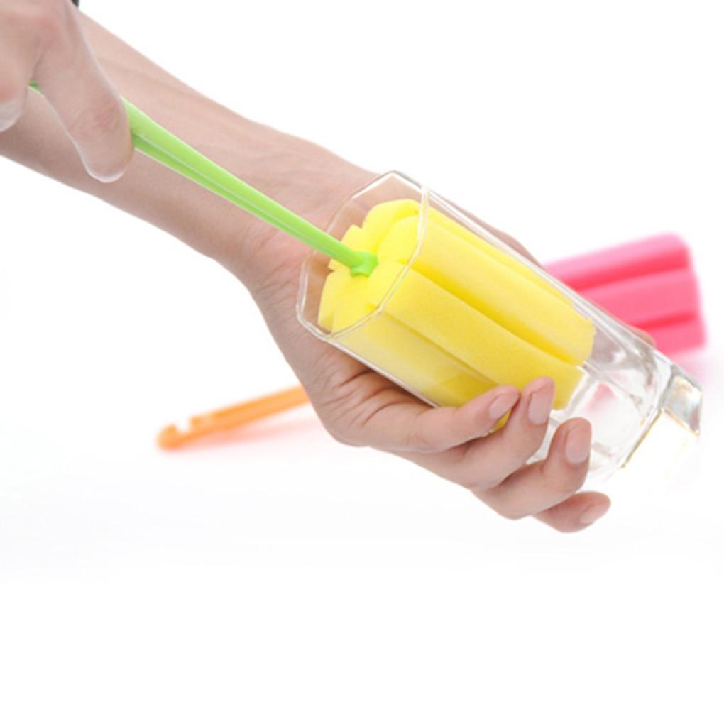 2pcs The Baby Bottle Brush Wash Bottle Bottle Nipple Brush Tool Sponge Cleaning Kit Baby Products Wholesale Bottle Brush