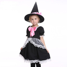 Black Friday Baby Girl Lace Show Dress Christmas Pageant Ruched Bow Dress Communion Lace Vestido Clothes Kid Girls With Hat(China)