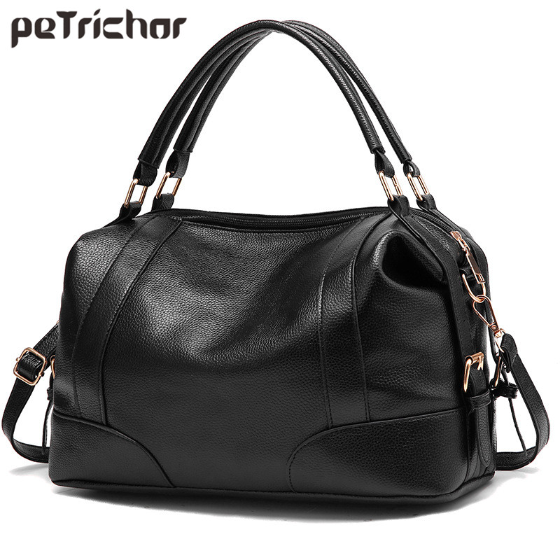 Boston Design Women Handbag & Shoulder Bags Large Capacity Soft Travel Bag Ladies Tote Female Crossbody Messenger Bag Bolsa Sac цены