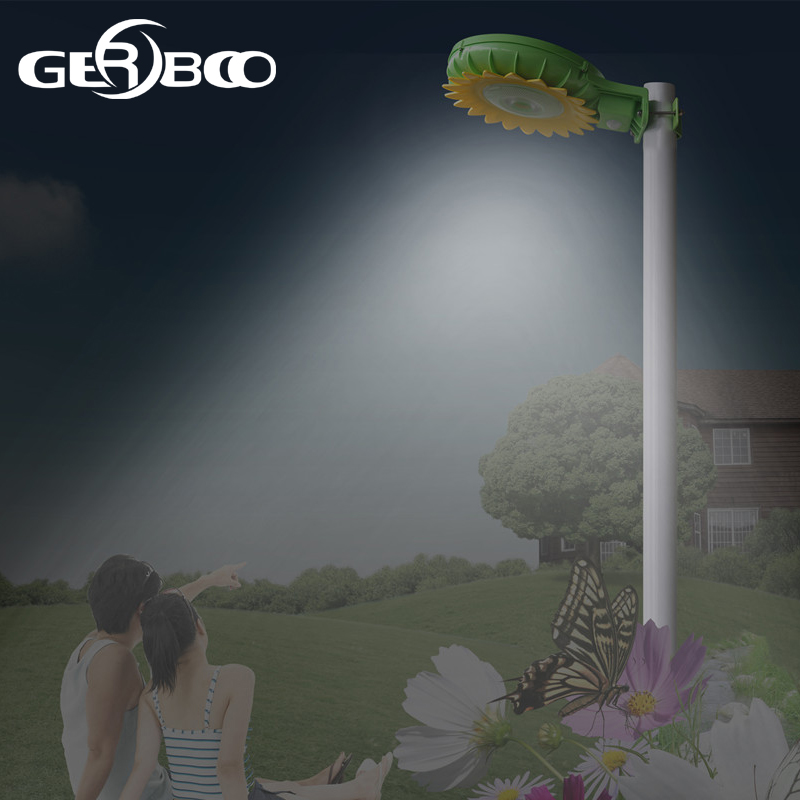 Gerboo LED Solar Powered Panel LED Street Light Solar Sensor Lighting Outdoor Path Wall Emergency Lamp Security Spot Light 5 pieces lot solar powered panel led street light solar lighting outdoor path wall emergency lamp security flood light